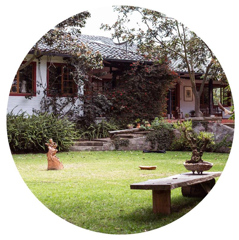 Jardines de la Galería Sara Palacios
