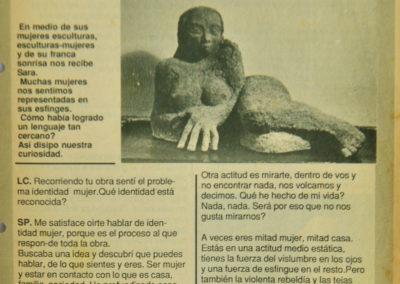 artículo de Mujeres casa de Sara Palacios