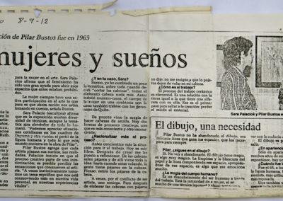 Artículo sobre Pájaros en la cabeza esculturas de Sara Palacios