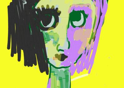 Dibujo digital de Sara Palacios