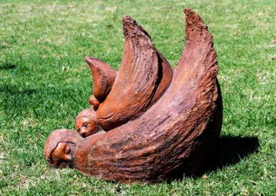 Pequeñas zoologías humanas escultura de Sara Palacios