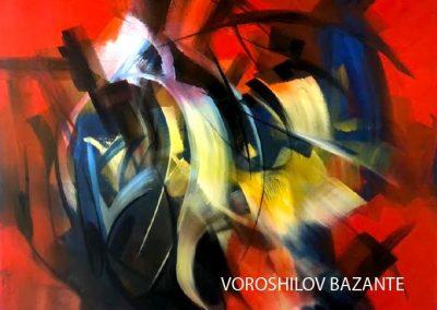 VOROSHILOV BAZANTE EN SARA PALACIOS GALERIA